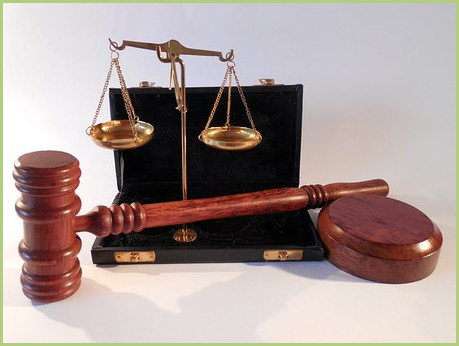 The legal mentions-Mallet and balance of justice