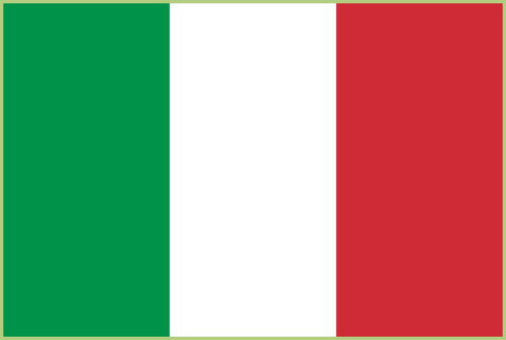 The trip to Italy - Flag of Italy