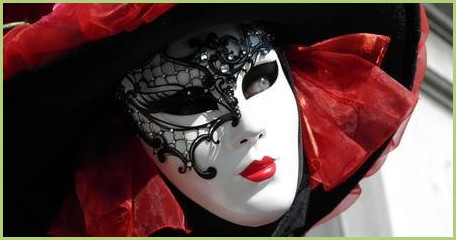 The trip to Italy - Mask the carnival of venice